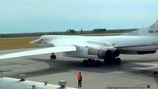 Máy bay ném bom siêu âm Tu-160 lạng lách đánh võng