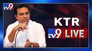 Minister KTR Addressing at Man'EXE-2019 LIVE- HICC Kondapu..