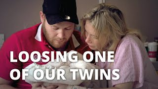 Chris and Kezia's heartbreaking story of losing one baby when pregnant with twins.