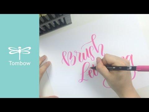 Individual Tombow ABT Brush Pens