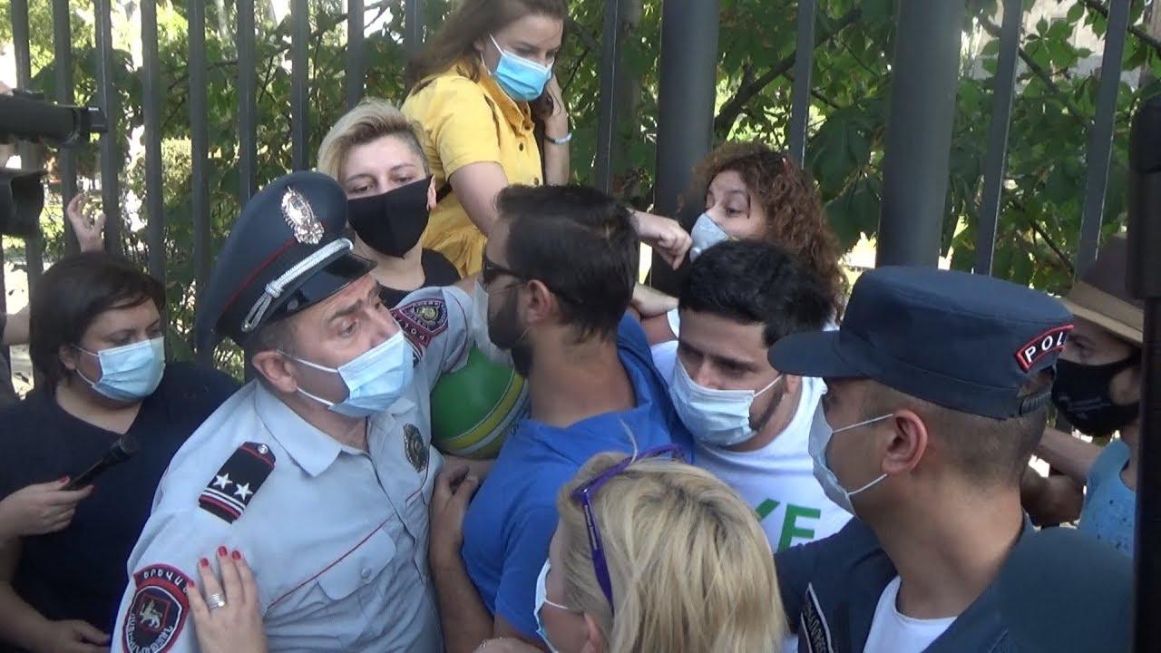 Ереван: силовики задержали защитников Амулсара
