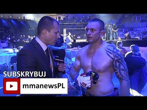 FEN 18: Mateusz Symoczko złamał żebro podczas wygranej z Piotrem Walawskim