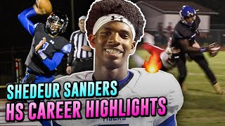 Shedeur Sanders OFFICIAL Career Highlights! QB Is Ready To TAKEOVER Jackson St. With Deion Sanders!