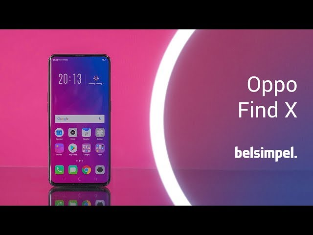Belsimpel-productvideo voor de Oppo Find X Red