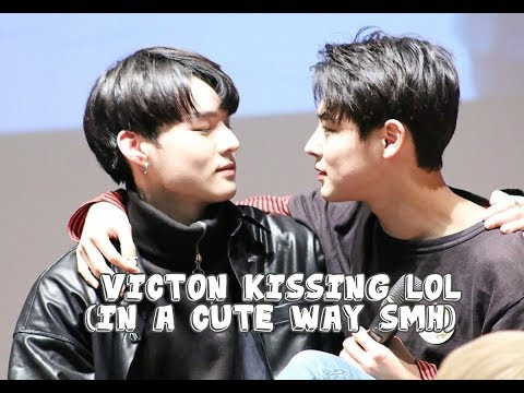Victon kissing compilation lol