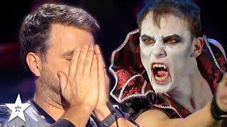 VAMPIRE Frightens Everyone On Romania's Got Talent 2019! | Got Talent Global