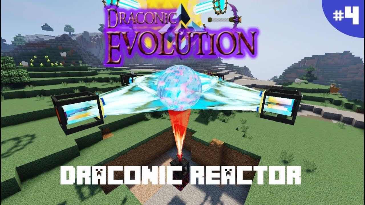 DRACONIC EVOLUTION 1 12 2 | PARTE 4: REACTOR | MINECRAFT MOD