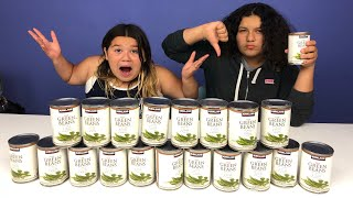 Don't Choose the Wrong Canned Green Beans Slime Challenge