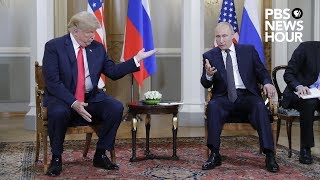 WATCH: President Trump and Russian President Vladimir Putin hold news conference in Helsinki