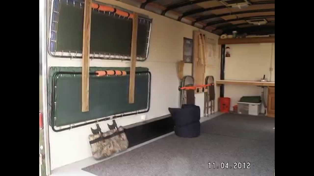 Deer Hunter Special Camper Conversion And Bug Out Trailer