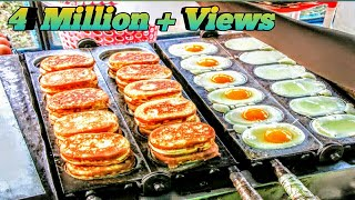 Egg Cake-Amazing street food from eggs| Street Food | Dhaka | Bangladesh|AroundTime 360