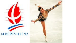 1992 Winter Olympics - Ladies Figure Skating - Free Program