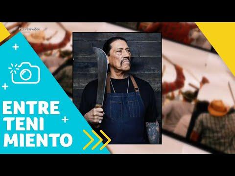 """Danny Trejo """"Machete"""" rescata a un bebé de un accidente de carros   Un Nuevo Día   Telemundo"""