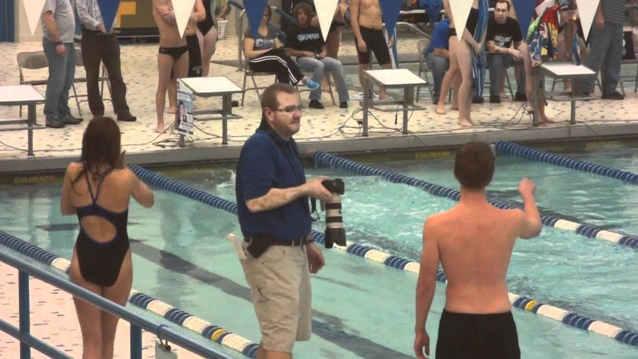 Alyssa swim meet ... 200 freestyle ... Carroll High School ...