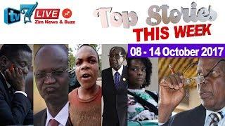 Zimbabwe news; TOP STORIES THIS WEEK, 08-14 October 2017, What Happened?