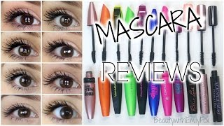 Mascara Reviews    BEST & WORST    Mostly Drugstore + EYE PICTURES
