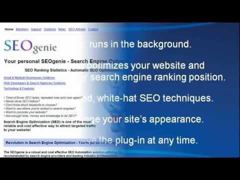 SEOgenie Plug-In Installation for SEO Optimization - Video Tutorial | SEOgenie Automated SEO