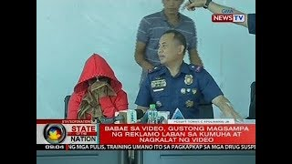 SONA: Isang babae, pinaghubad, pinatuwad at kinapkapan sa isang live demonstration ng mga pulis
