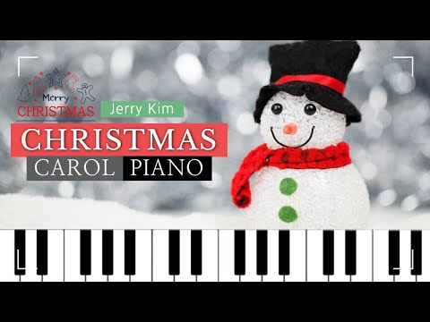[2Hours]🎄Christmas Carol Piano Compilation 잔잔한 크리스마스 캐롤 피아노 모음 Cover by Jerry Kim