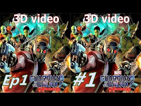 3D VR TV Marvel's Guardians of the Galaxy The Telltale Series video Side by Side SBS by 3D VR TV PC Games Videos