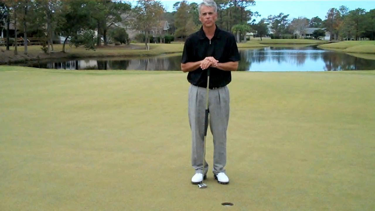 Side Saddle Face On Putting Drill With The Gp Putter