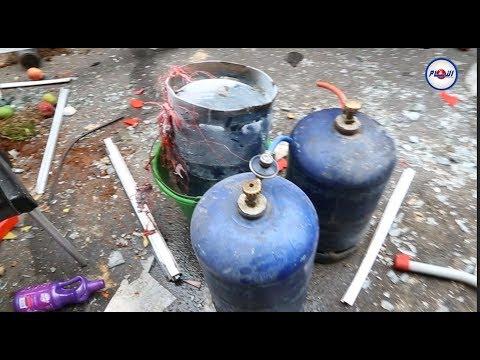 شاهد انفجار قنينة غاز داخل سناك بالدار البيضاء يخلف ضحايا