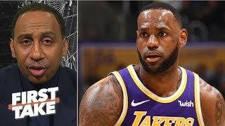 Michael Jordan's assassin mentality means LeBron-MJ debate 'never existed' - Stephen A. | First Take