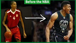 Before the NBA : Giannis Antetokounmpo