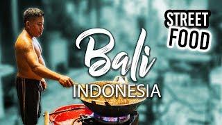 Eating Street Food like a local in Bali Indonesia
