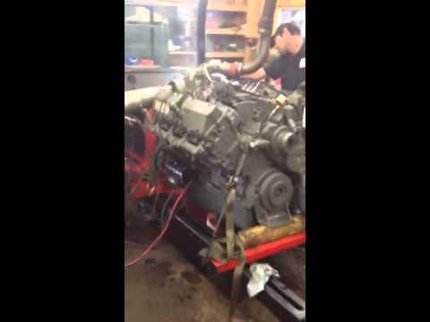 Mack E9 Dyno Test