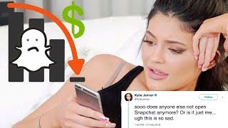 Kylie Jenner Makes Snapchat Lose Over a BILLION Dollars Because of ONE Tweet!