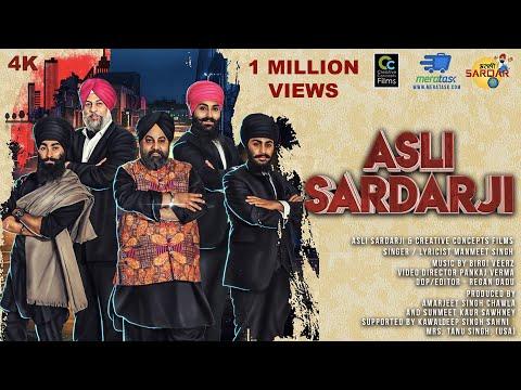 Manmeet Singh - Asli Sardar Ji Full Video - Birgi Veerz