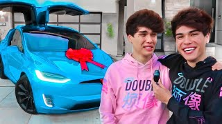 SURPRISING MY TWIN BROTHER WITH HIS DREAM CAR!!