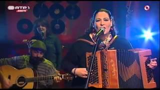 Celina Da Piedade - CELINA DA PIEDADE - Manjerico (live on tv)