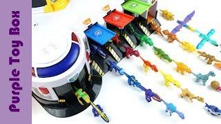타이니소어 출동? 긴급출동센터에 나타난 공룡메카드 Dinosaur Toys
