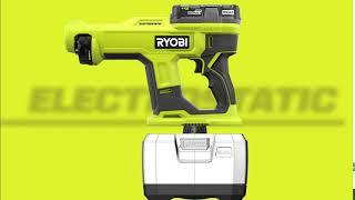 Video: 18V ONE+ Handheld Electrostatic Sprayer Kit