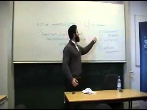 Lecture: Islam or Atheism - Which One Makes More Sense? By Hamza Andreas Tzortzis