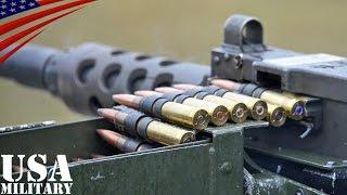 ブローニングM2・M249・M240機関銃 ドイツ軍射撃訓練 - M2 (.50 Caliber), M249, M240 Machine gun German Forces Live Fire