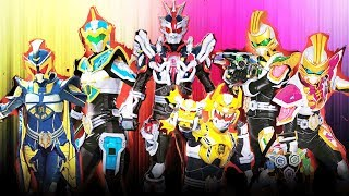 Legend Heroes All Forms Henshin