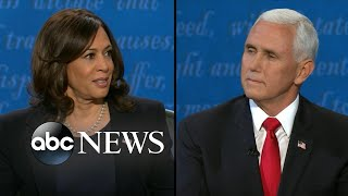 Harris and Pence confront racial injustice facing the country today l VP Debate 2020