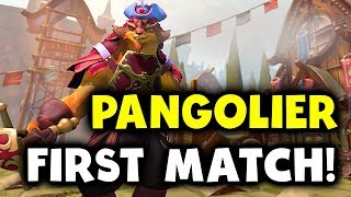 PANGOLIER FIRST PRO GAME! - MINESKI vs WG.U - CAPTAINS DRAFT 4.0 DOTA 2