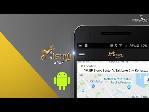 Hire Car Mechanics With the Mistry App Designed by Webguru Infosystems