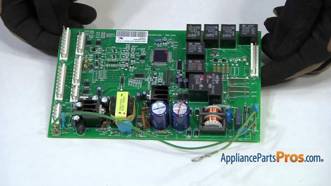 Refrigerator Main Control Board Part Wr55x10942 How To