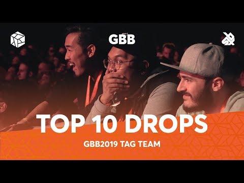 TOP 10 DROPS 😱 Grand Beatbox Battle Tag Team 2019