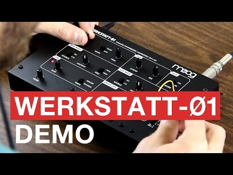 Moog Werkstatt-01 Demo | Moogfest 2014 Synthesizer Kit