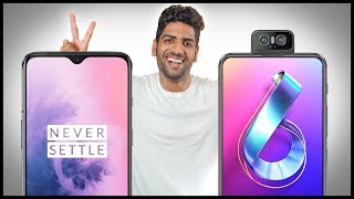 OnePlus 7 vs Asus 6Z (Zenfone 6) Full Comparison - What Should YOU Buy?