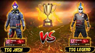 TSG JASH VS TSG LEGEND || 1 VS 1 BATTLE || MUST WATCH BEST VS BEST || EPIC HEADSHOT 🔥