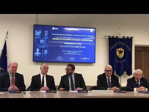 Accordo fra Lottomatica e L'Aquila per lo sviluppo del 5G