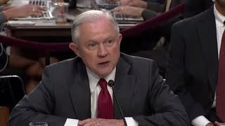 Jeff Sessions under scrutiny over Russia testimony