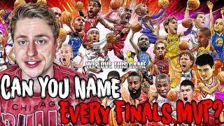 Can YOU Name EVERY NBA FINALS MVP?